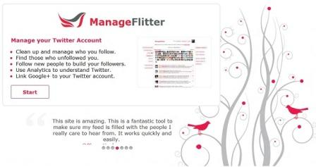 manage twitter account