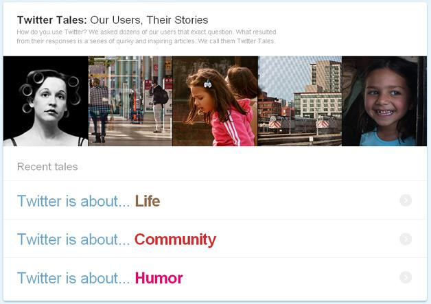 Favole e storie di Twitter