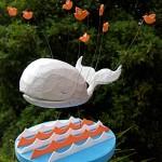 Fail Whale scultura 3D di @Hil121