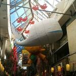 Fail Whale Ballon in Giappone al festival Asagaya Tanabata