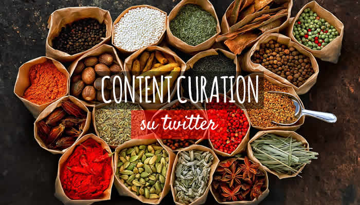curation su twitter