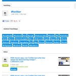 bookmark link e hashtag