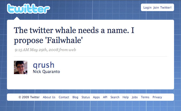 nick quaranto fail whale