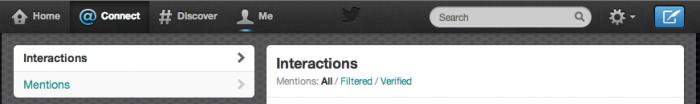 filtri mention verificati