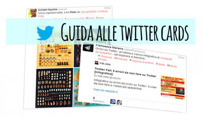 guida creazione twitter cards