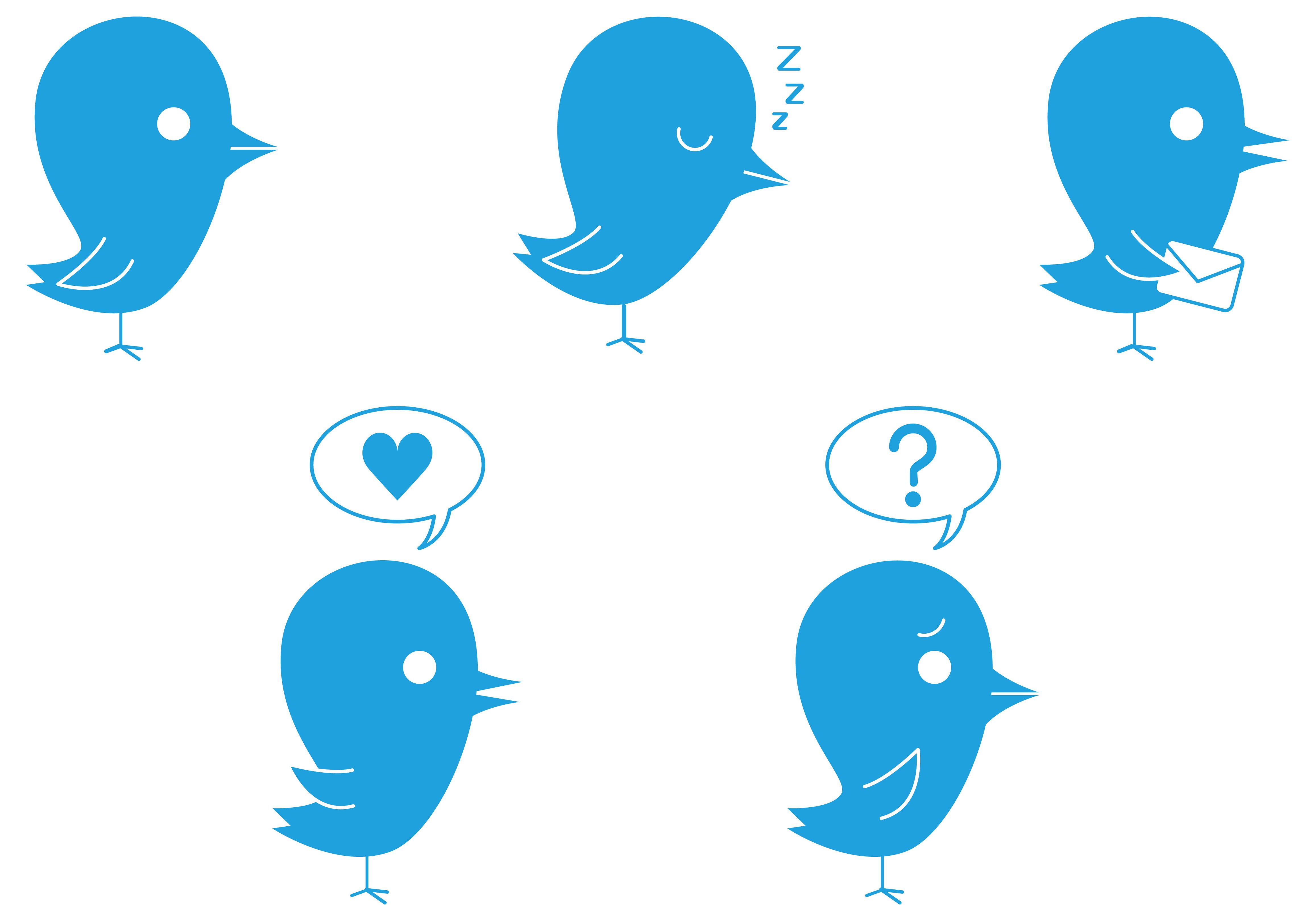 Noia, amore e dubbi su Twitter